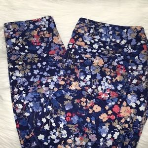 Chico's Petal-Print Pull-On Jeggings